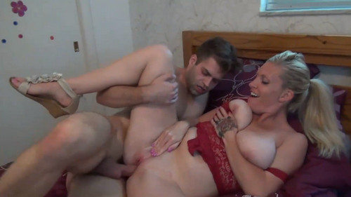 his hand fingering her pussy under her skirt