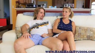 Nikki Mae – My Daughter Secret – Watching TV with Dad