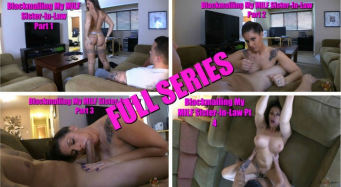 UnderCoverSluts Clover Baltimore – Blackmailing my Milf Sister in law Comlete series