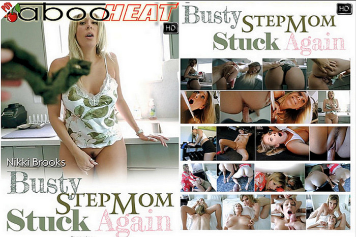 Cory Chase, Nikki Brooks – Busty Stepmom Stuck Again