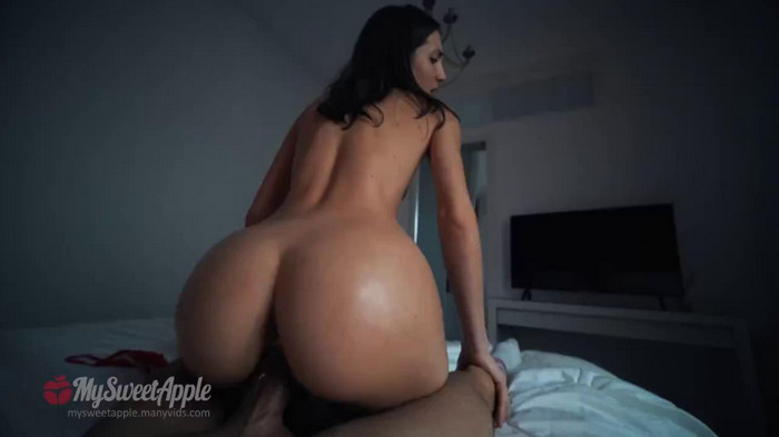 MySweetApple – Step Brother Caught Stealing Nudes